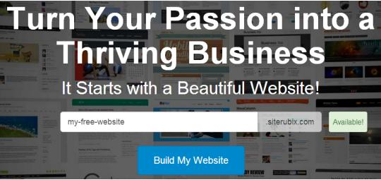 siterubix.com sign up
