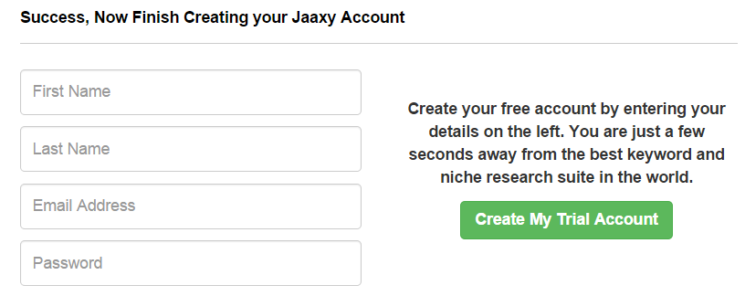 Jaaxy Sign Up